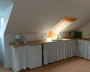 Eget køkken i hver lejlighed.