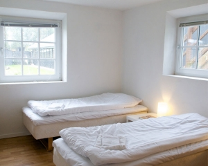 Bløde senge i hver lejlighed.